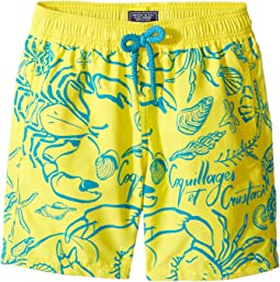 Flocked Shellfish Swim Trunk (Big Kids)