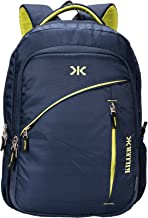 Killer Louis 38L Large Navy Blue Polyester Laptop Backpack with 3 Compartments