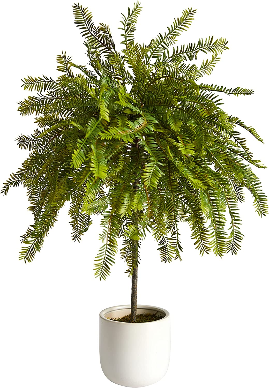 2ft. Northern Californian New life Long-awaited Cedar Canopy Tree in Artificial Decora