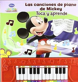 La Casa de Mickey Mouse Las Canciones de Piano de Mickey Toca y Aprende