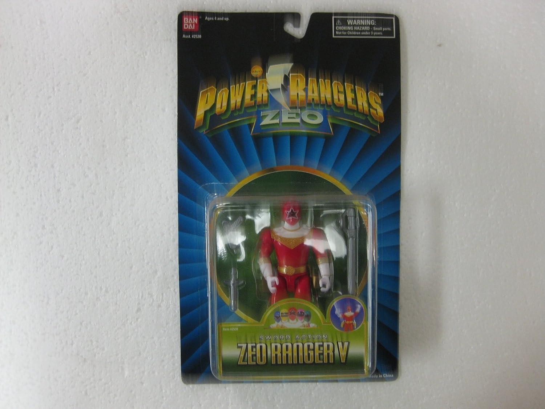 Power Rangers Zeo 1996 Red Ranger MOSC MOC 5 1 2 Figure