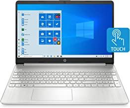 HP 15-inch Touchscreen Laptop, AMD Ryzen 3 3250U, 8 GB RAM, 256 GB SSD, Windows 10 Home in S Mode (15-ef1020nr, Natural Si...