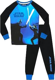 Star Wars - Pijama para Niños Brillan En La Oscuridad