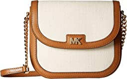 d0bbeee498a5 MICHAEL Michael Kors. Medium Crossbody Clutch.  178.20MSRP   198.00.  Natural Acorn