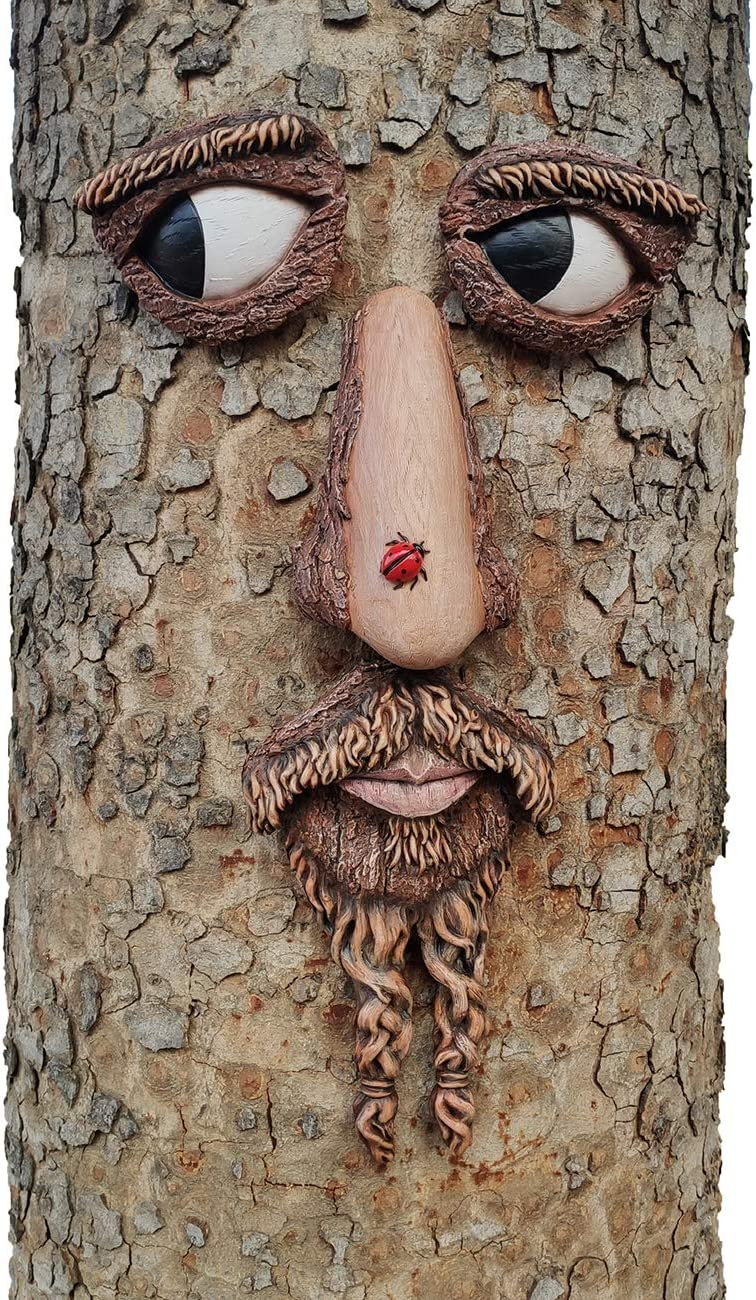 Tree Mail order cheap Faces Decor Outdoor - 12 x 24 Big Area Attention brand Mounting Inches Size