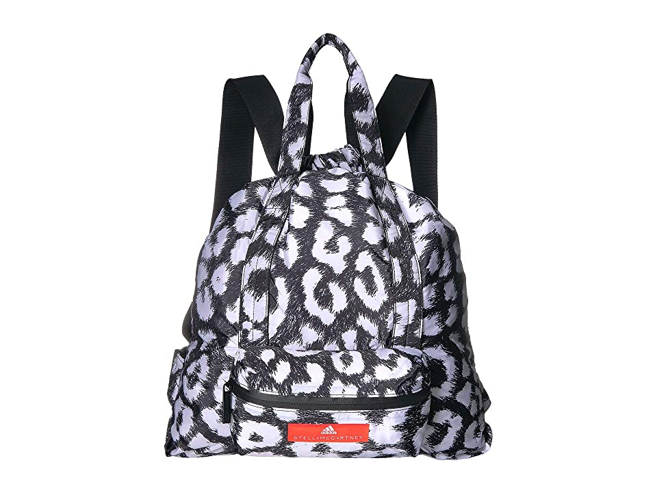 adidas by Stella McCartney Gymsack P (Black/White) Backpack Bags