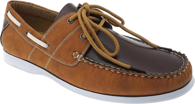 Aldo Rossini Men's Loafer | Casual Comfort Slip-On Boat Shoe