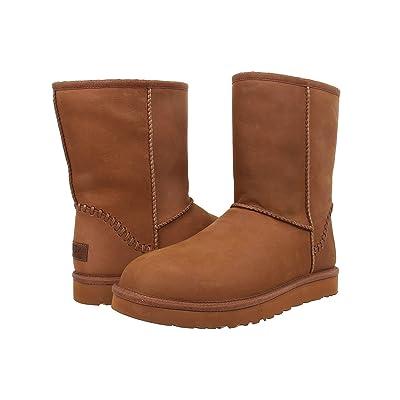 UGG Classic Short Deco (Chestnut Leather) Men