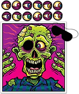 Beistle Pin The Eyeball On The Zombie Game