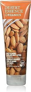 Desert Essence Sweet Almond Hand & Body Lotion - 8 Fl Ounce - Replenishing - Aloe Vera - Shea Butter - Jojoba Oil - Nouris...