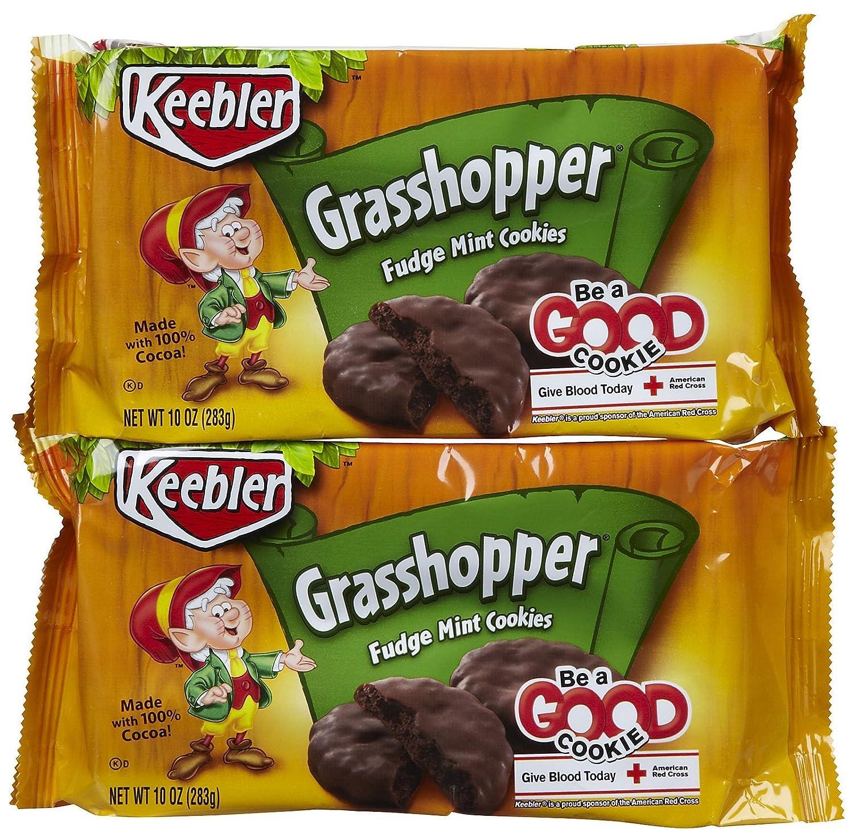 Keebler Cookies Max 40% OFF security - Grasshopper Fudge 10 oz Mint 2 pk