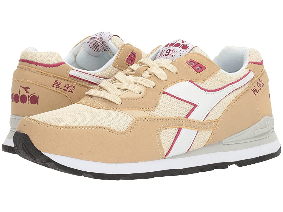 Diadora N-92 (Beige Bleached) Athletic Shoes