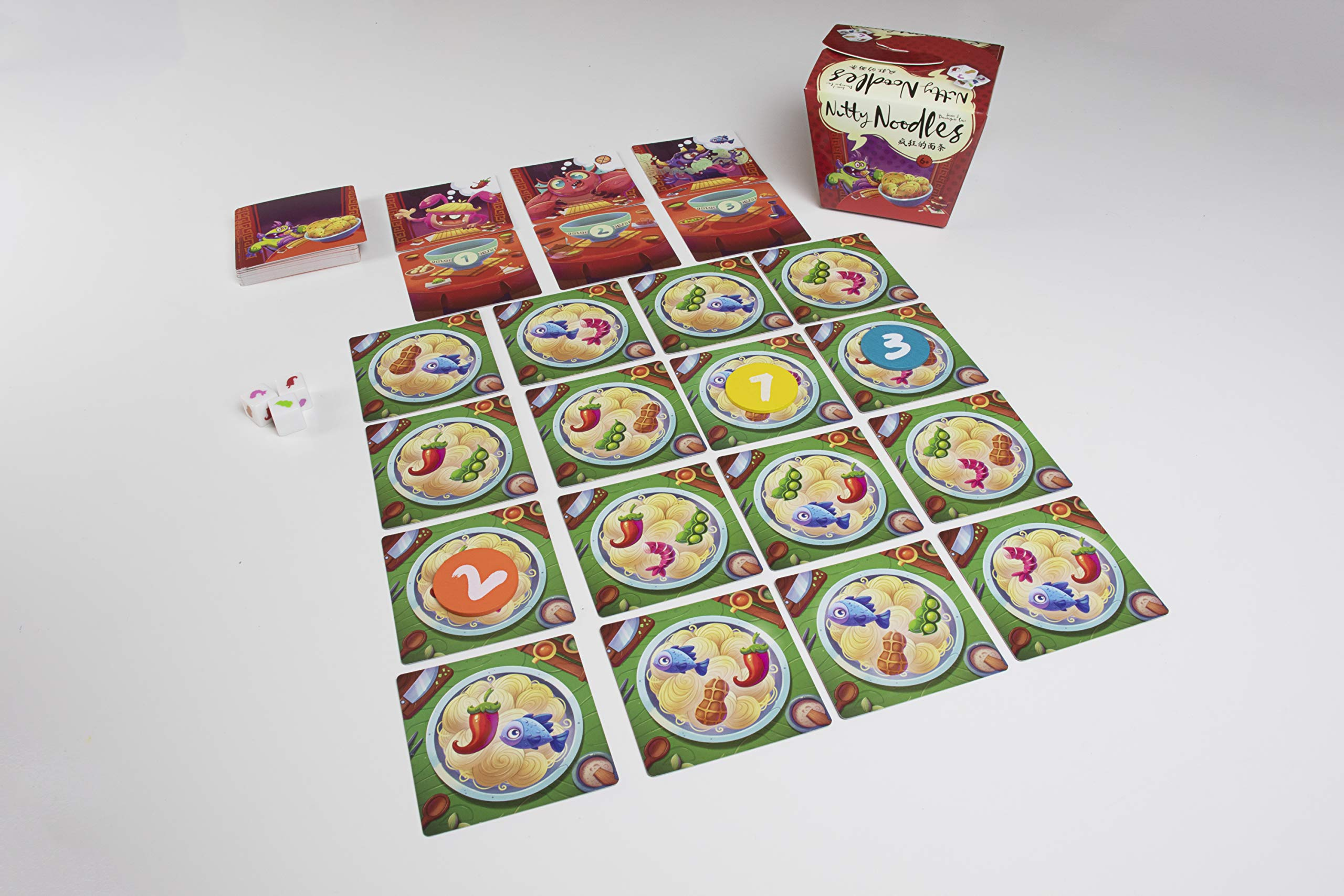 Ludonova - Nutty Noodles, Juego de Mesa (LDNV330001): Amazon.es: Juguetes y juegos