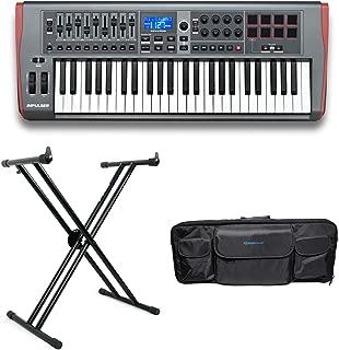 Novation IMPULSE 49-Key USB MIDI Keyboard Controller+Stand+Carry Bag