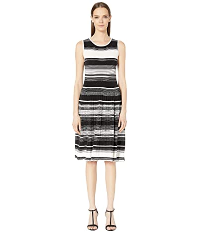 Kate Spade New York Striped Sweater Dress (Black) Women