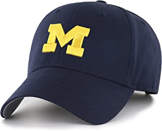 OTS NCAA Michigan Wolverines Men's All-Star Adjustable Hat, Team Color, One Size