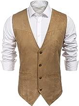 Best mens leather dress vest Reviews