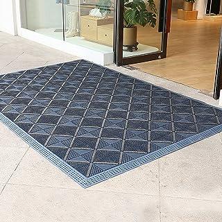 Extra Large Outdoor Doormats for Patio Summer, Heavy Duty Commercial Front Door Mat for Hotels Banks Schools, Dust-Proof A...