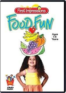 MANNERS & NUTRITION DVD for Preschool Children - FOOD FUN by Baby's First Impressions