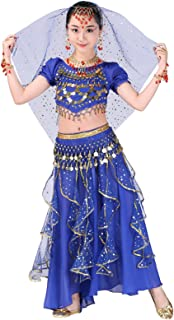 Girl Belly Dance Kids Performance Indian Jewelry Costume All Ornaments