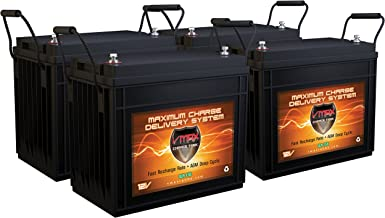 QTY 4 VMAX SLR155 Vmaxtanks AGM Deep Cycle 12V 155ah each Sla Solar and Golf Rechargeable Battery for Use with Pv Solar Panels Smart Chargers Wind Turbine and Inverters