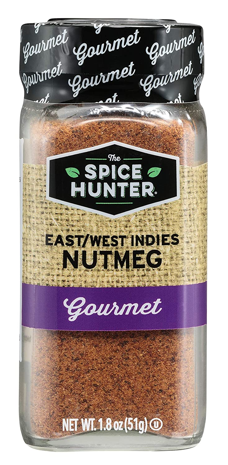 The Spice Hunter Nutmeg New York Ranking TOP20 Mall East Jar 1.8-Ounce west Ground Indies