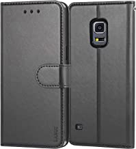 LANOU Galaxy S5 Case, Leather Case Samsung Galaxy S5 Wallet Cover Protective Case for Samsung S5