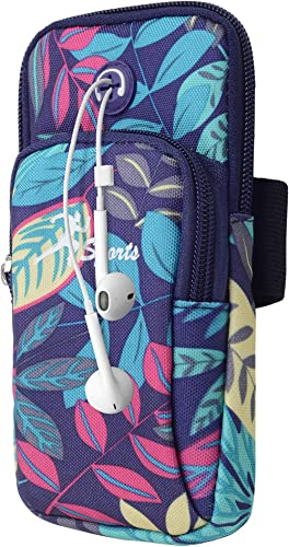 WATACHE Sports Arm Bag, Universal Unisex Armbands Exercise Workout Running Gym Armbands Phone Holder Pouch Case with ...
