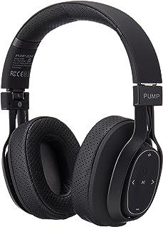 Wireless BlueAnt Pump Zone Over Ear Wireless Headphone, Black, Black, (Pump-Zone-BK)