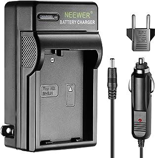 Neewer Cargador indicador LED para Nikon EN-EL14US & UE Adaptador de Coche Apto réflex Digitales Nikon D3100D5200D5100D5300°Cámaras Digital Coolpix P7800P7000P7100Grip mb-d31mb-d51