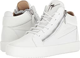 May London Tone-on-Tone Mid Top Sneaker