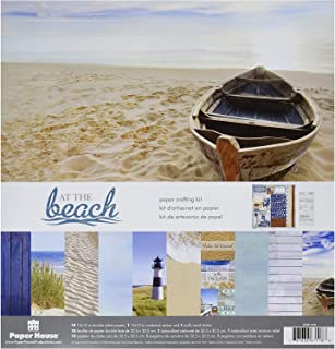 Paper House Productions KTSP-1025E At The Beach Paper Crafting Kits (3 Pack)