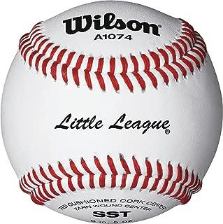 little league rs-t baseballs
