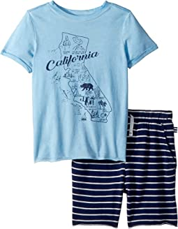 Splendid Littles California Map Tee Set (Toddler)