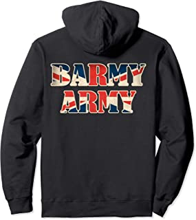 England Cricket T-Shirt 2019 England Barmy Army Pullover Hoodie