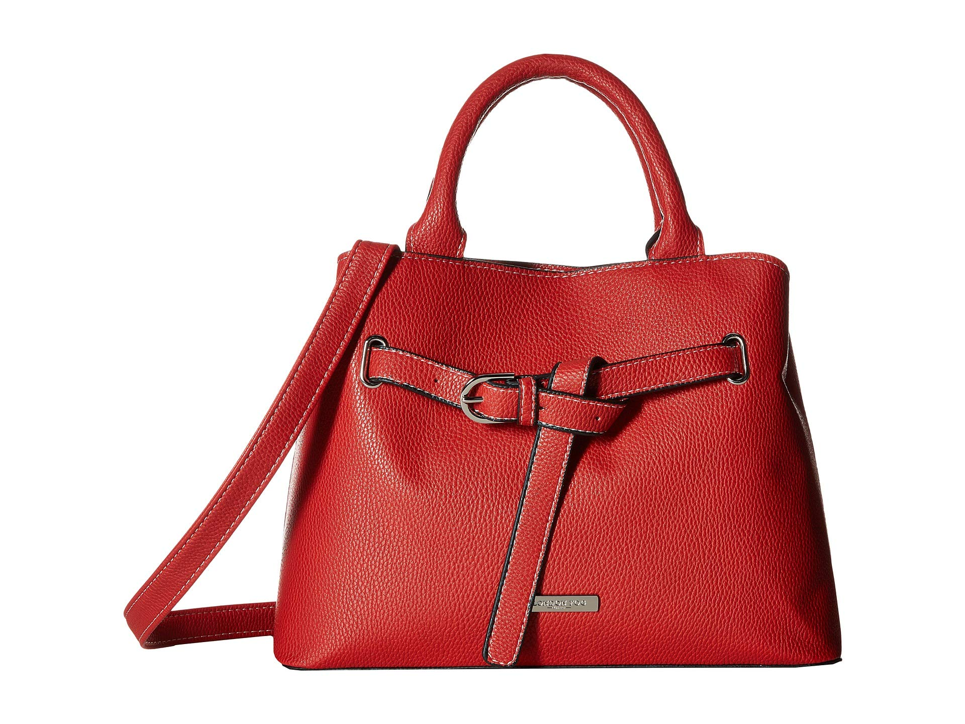 Triple Fog Ruby Satchel Poppy London 8EqdxqY