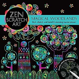 Zen Scratch Art: Magical Woodlands