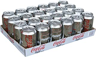 Coca-Cola Light Carbonated Soft Drink, Can -330ML (Pack of 24)