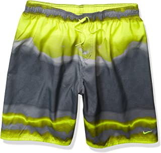 Nike Men's Printed Volley Short Swim Trunk