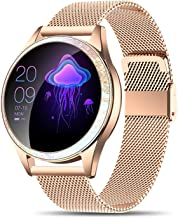 Yocuby Smart Watch for Women,Bluetooth Fitness Tracker Compatible with iOS,Android Phone,..
