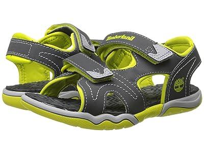 Timberland Kids Adventure Seeker 2 Strap Sandal (Little Kid) (Dark Grey/Green) Kids Shoes