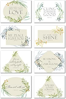 Inspirational Bible Verse Cards with Envelopes - Pack of 48