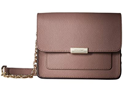Cole Haan Piper Small Flap Crossbody (Twilight Mauve) Cross Body Handbags