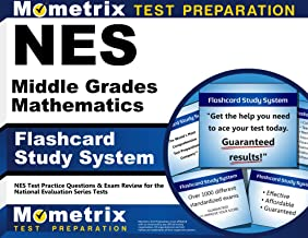 NES Middle Grades Mathematics Flashcard Study System: NES Test Practice Questions & Exam Review for the National Evaluation Series Tests (Cards)