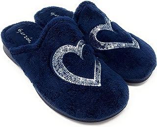 Clogs 112D Zapatillas de estar por casa para mujer