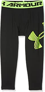 Armour 3//4 Logo Legging Under Armour Leggings Bambino