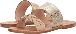 Soludos - Metallic Braided Slide Sandal