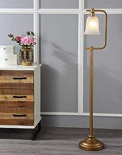 Safavieh Lighting Collection Cloche Gold 55-inch Floor Lamp