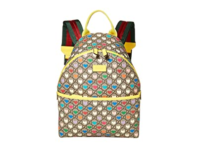 Gucci Kids Backpack 271327HYTAN (Little Kids/Big Kids) (Beige/EV/Vrv) Backpack Bags