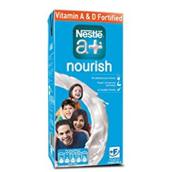 Nestle A+ Nourish Toned Milk, 1L